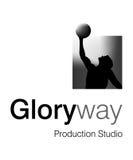 Glory Way Logo. Logo Design for animation Studio Stock Images