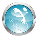 Gloss Button Royalty Free Stock Photos