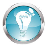 Gloss Button Royalty Free Stock Images