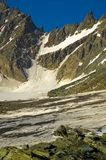 Glossglokner glacier, Austria.   Stock Photos