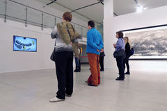Glossiness Uncarved chabet Wystawa w Moskwa Obrazy Stock