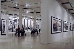 Glossiness Uncarved chabet Wystawa w Moskwa Zdjęcie Stock
