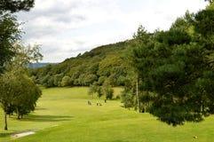 Поле для гольфа Glossop в Дербишире стоковые изображения