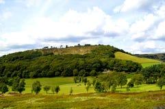 Поле для гольфа в Glossop стоковое фото rf