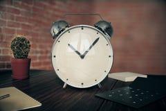 Glossy alarm clock Stock Image
