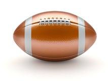 Glossy american football ball Stock Photography