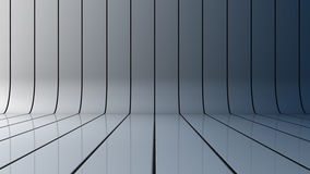 Glossy background. With lines that curve upward Stock Photos