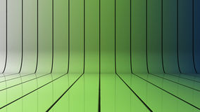 Glossy background. With lines that curve upward Stock Photo