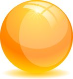 Glossy ball. Stock Photography