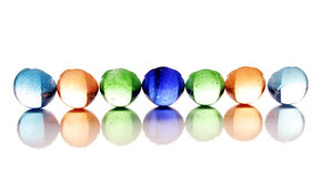Glossy Balls Royalty Free Stock Photography