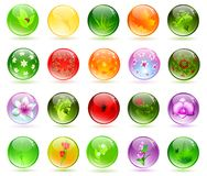Glossy balls Royalty Free Stock Photo