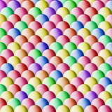 Glossy balls. Illustrated background with lot of colorfull balls Royalty Free Stock Photos