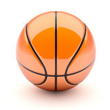 Glossy Basketball Royalty Free Stock Image