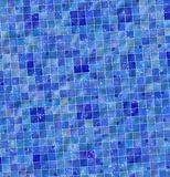 Glossy bathtub tiles stock illustration