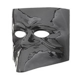Glossy black mask Stock Photography