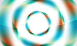 Glossy blurred swirl circle shapes abstract Stock Photos