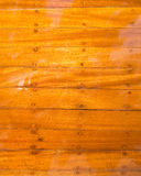 Glossy boat wood background. Stock Image