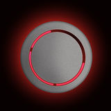 Glossy button Royalty Free Stock Photography