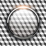 Glossy button background Stock Image