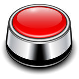 Glossy button Stock Image