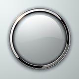 Glossy button Stock Photos
