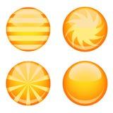 Glossy button vector vector illustration