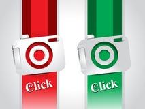 Glossy Camera Icon Stock Image
