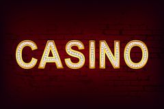 Glossy Casino Royalty Free Stock Photo