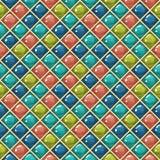 Glossy cells pattern stock illustration