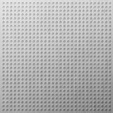 Glossy chrome grid with disc-shaped holes. EPS 8 Royalty Free Stock Image