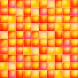 Glossy colorful mosaic square cells grid Stock Photo