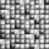 Glossy colorful mosaic square cells grid Royalty Free Stock Photography