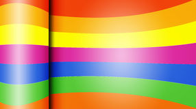 Glossy colorful paper abstract background Stock Images
