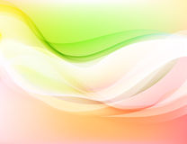 Glossy colors abstract scenery abstract background Stock Photography
