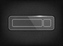 glossy download button on texture Royalty Free Stock Photo