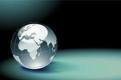 Glossy Earth Globe Royalty Free Stock Photography