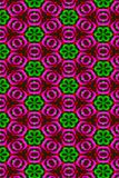 Glossy flower pattern Royalty Free Stock Photos