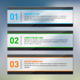 Glossy frames - infographics - place for your text Royalty Free Stock Image