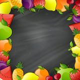 Glossy Fruits Stock Images