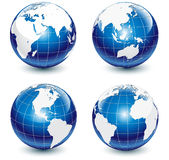 Glossy Globes Stock Images
