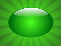 Glossy Green background. Glossy Green button background design Royalty Free Stock Images