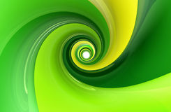 Glossy green yellow wallpaper Stock Image