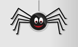 Glossy halloween spider Stock Photo