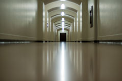 Glossy Hallway Royalty Free Stock Photo