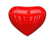 Glossy heart Royalty Free Stock Photo