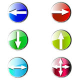 Glossy icon. Badge Button Contact Information Logo Marketing Communication Symbol Banner Business Businessman royalty free illustration