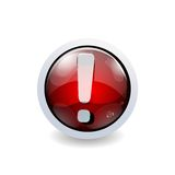 Glossy icon button Stock Photo