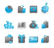 Glossy icon set. Set of 12 glossy web icons Part 4 (see other in my portfolio Stock Images