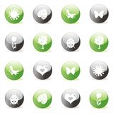 Glossy Icon Set for Web Stock Images