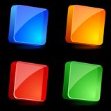Glossy Icons. Royalty Free Stock Photography